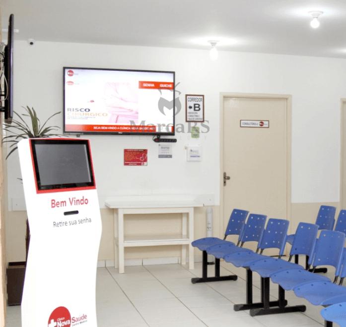 sistema de senhas para clínica, hospital e laboratórios